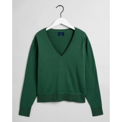 GANT Damen Pullover V-Neck