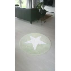 Teppich 120cm, lindgrün