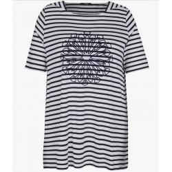 frapp T-Shirt, blau-weiß...