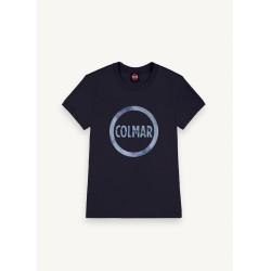 Colmar T-Shirt, blau und weiß